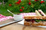 Sandwich aux canneberges
